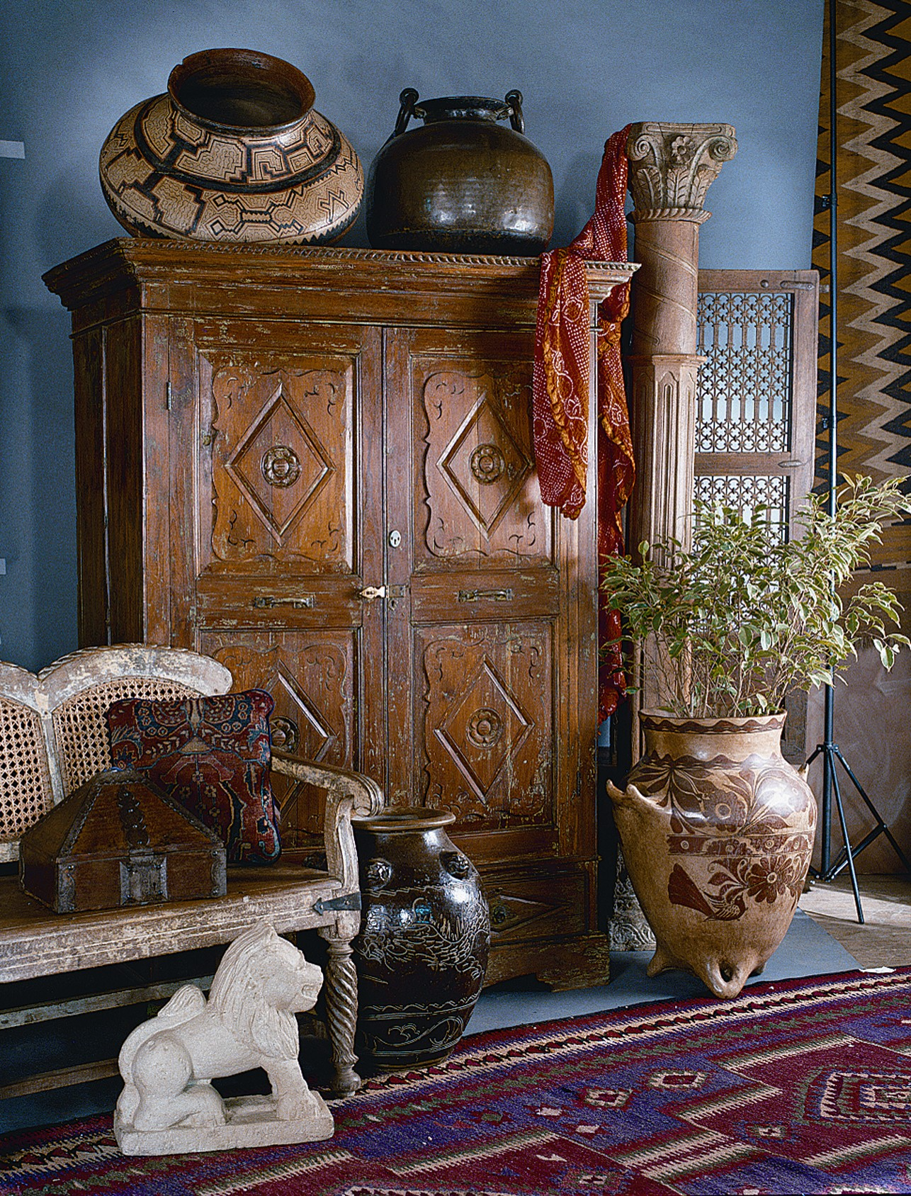 Colonial Style Imports, Tucson Arizona - Antique Furniture, Architectural Elements, Folk Art: Colonial